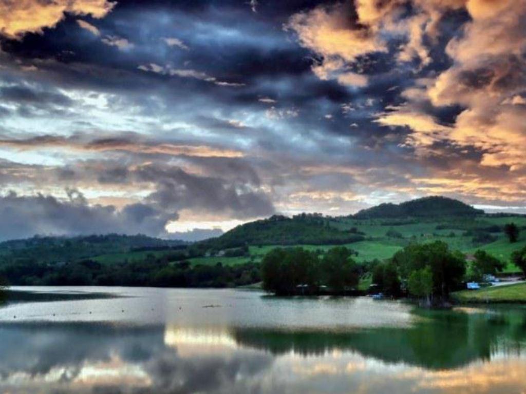 il lago di san ruffino